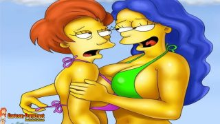 Simpsons Leseben Porn – Edna und Marge haben Spaß Leseben Porno Deutsch
