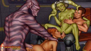 Star Wars Gruppensex Porn – Vierlinge in Gruppensex Star Wars Gruppensex Porno Deutsch