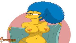 Simpsons Marge Porn – Marge ist nackt Simpsons Porno Marge Deutsch